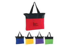 Non-Woven Zippered Tote Bag
