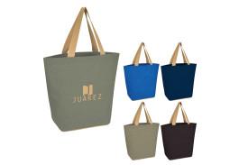 Marketplace Jute Tote Bag