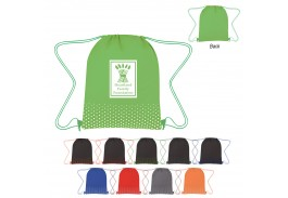 Connect The-Dots Non-Woven Drawstring Bag