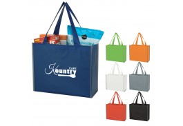Laminated Reflective Non-Woven Shopper Bag