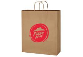 """16"""" x 19"""" Kraft Paper Brown Shopping Bag"""