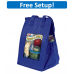 Insulated Therm-O Snack Tote Bag with Full Color Imprint