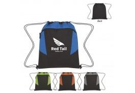 Tahoe Heathered Drawstring Backpack